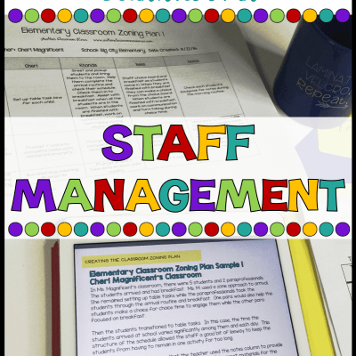 Staff Management: THE ULTIMATE GUIDE TO AUTISM CLASSROOM SETUP
