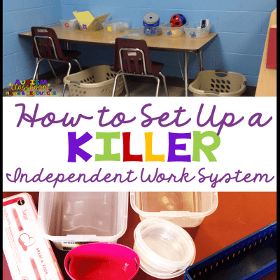 How to Set Up a Successful Independent Work System Your Students Will Love