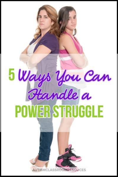 5 Ways You Should Handle a Power Struggle