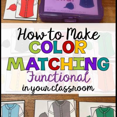 How to Make Color Matching Functional in Your Classroom