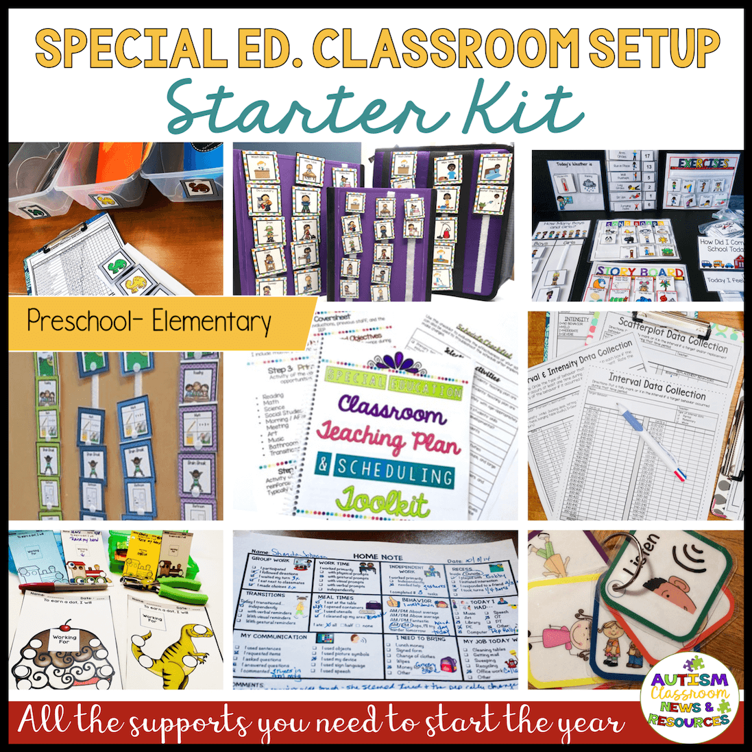Setting up a classroom in special education can be challenging. Having the tools to do it right can make it easier. Click through to find out how to start.