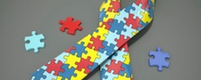 autism ribbon and puzzle pieces