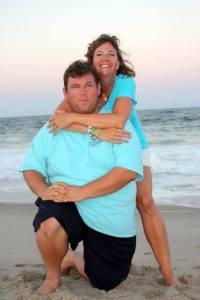 Chris Tuttle with his sister Jamie Tuttle-Virkler.