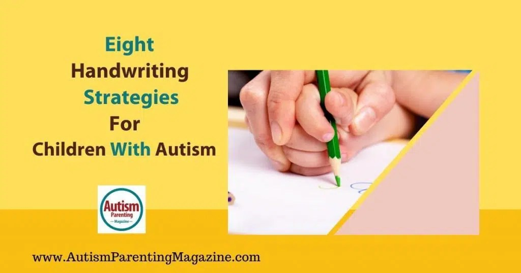 Here are some ideas on how to build your autistic child's handwriting skills