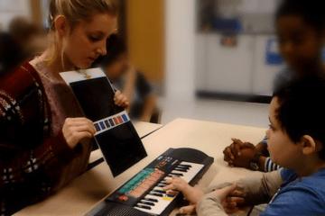 keyboard ASD Teacher autism training teach children with autism