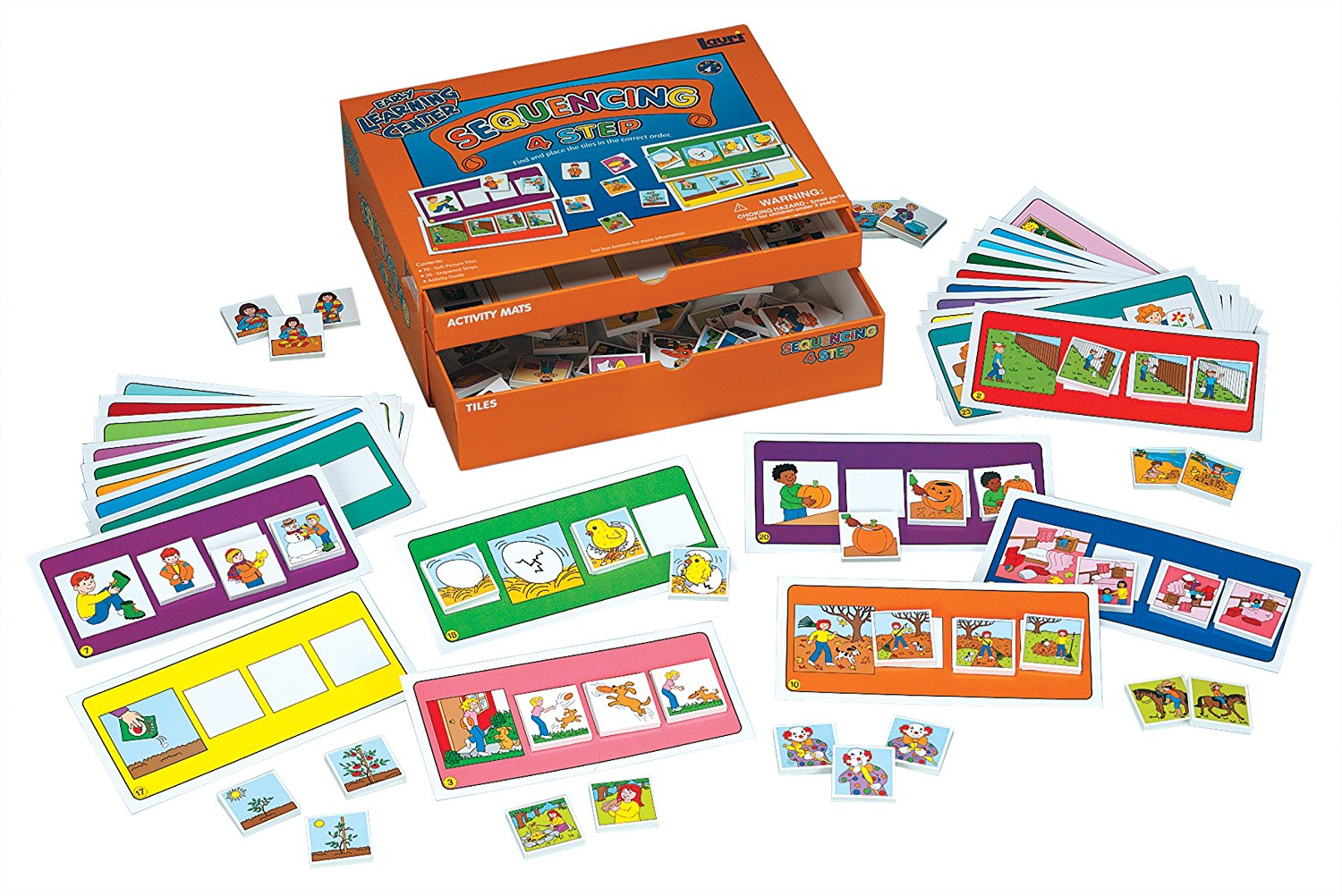 4 Step Sequencing Educational Kit
