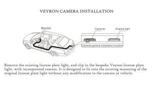 Veyron VCVAUX Reversing RearView Camera for Vauxhall