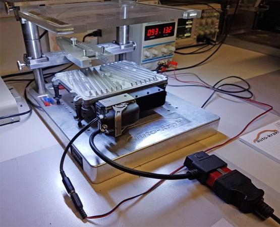 naprawa sterownika, elektronika mercedes v6 m272