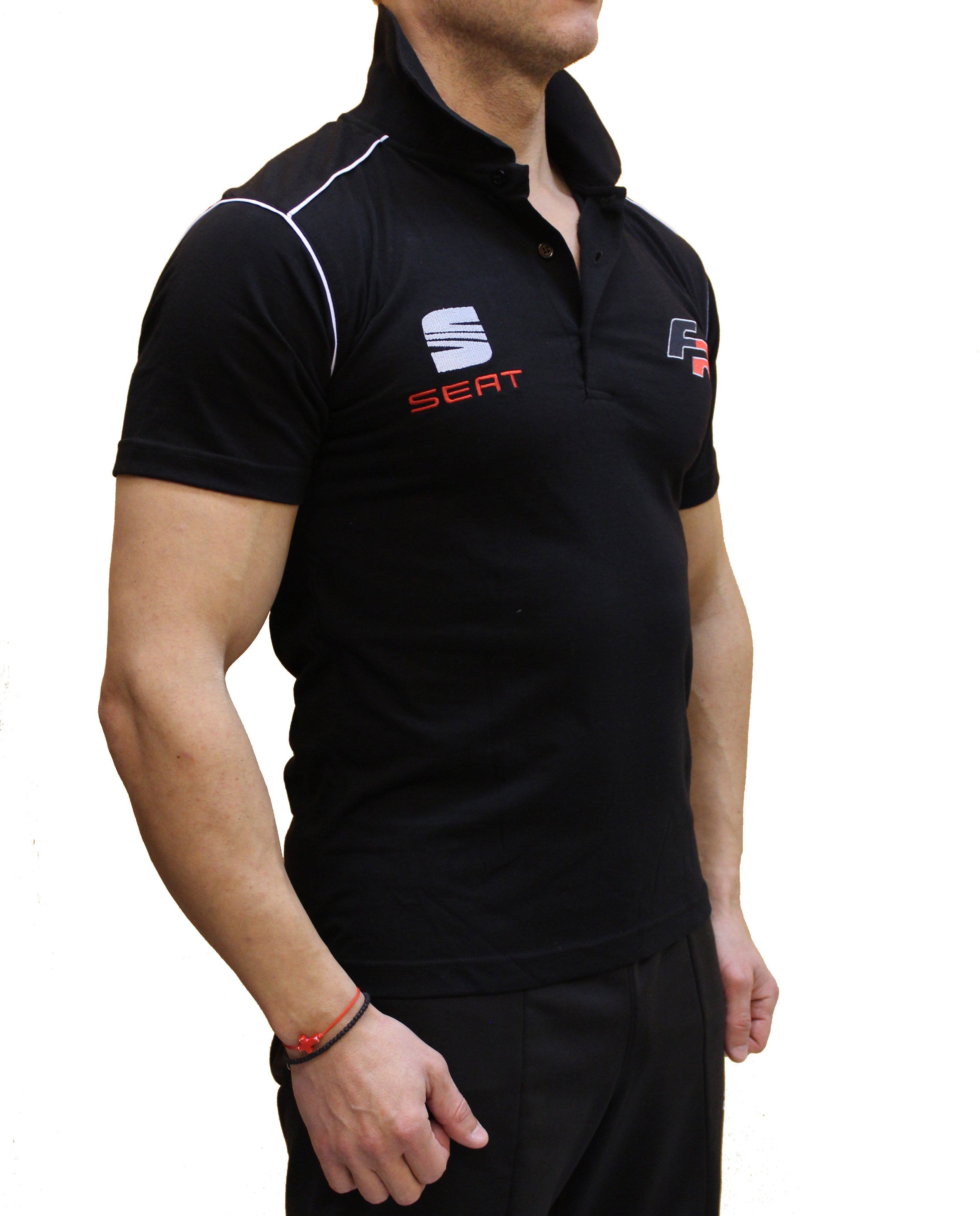 fbec8e3f5d Seat Polo shirt designed and hand-crafted by Auto Moto Fans