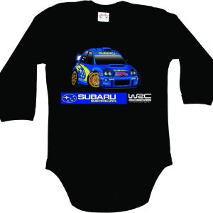 Subaru Bodysuit for Baby with long sleeves
