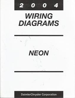 2004 Chrysler  Dodge  Plymouth Neon  SRT4 Wiring Diagrams