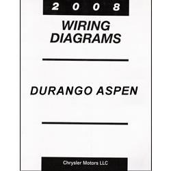 2008 Dodge Durango and Chrysler Aspen (HBHG) Wiring Manual