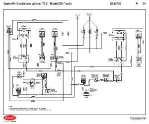 042005 & Down Peterbilt 379 Family HVAC Wiring Diagrams