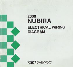 2000 Daewoo Nubira Factory Wiring Diagram Manual