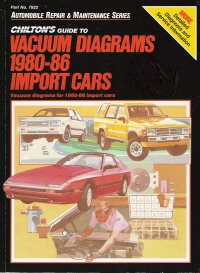 1980  1986 Chilton's Guide to Vacuum Diagrams, Import Cars