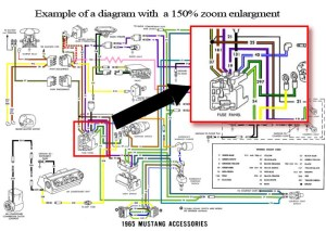 1970 Ford Mustang Colorized Wiring Diagrams CDROM