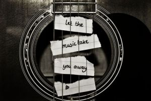 Let the music love you away