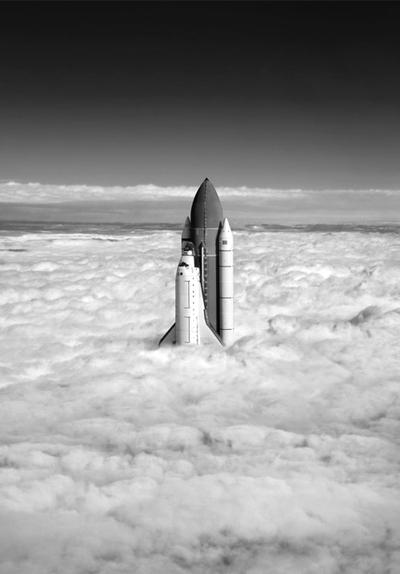 Columbia lanceur, nuages