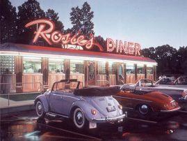 porsche beetle rosies dinner