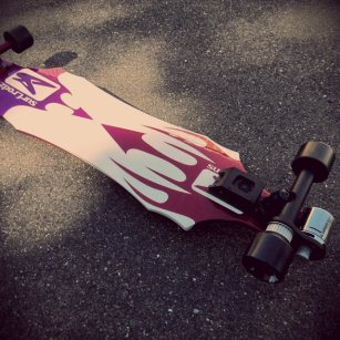 57 longboard electrique
