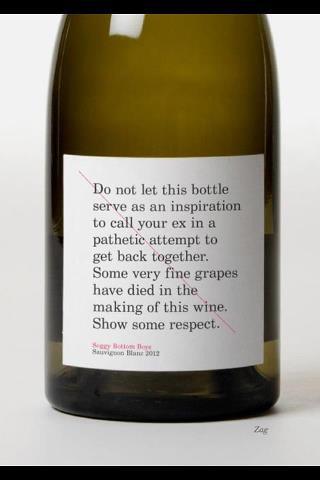 83 Etiquette de vin