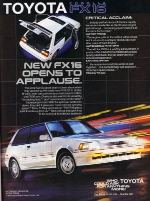 Toyota corolla AE82