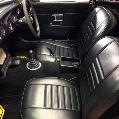 Habillages de sièges MG C