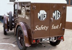 M Type high speed service van