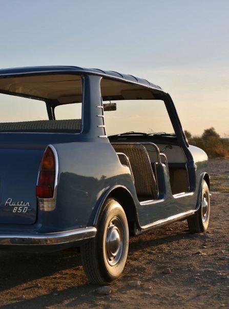 austin 850 beach car