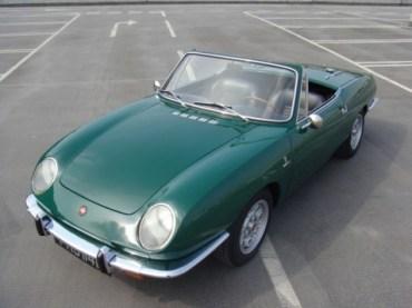 1967 fiat 850 bertone spider convertible 1