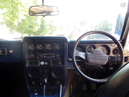 Reliant Scimitar interieur