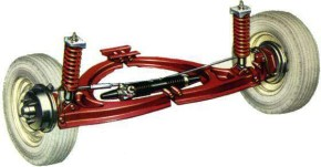 Imp front suspension
