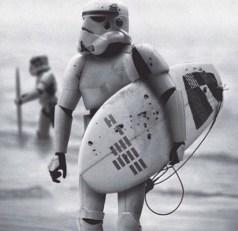 surf avec la force