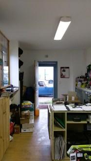 MG Midget Garage