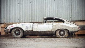 Jaguar Type E barn find 3