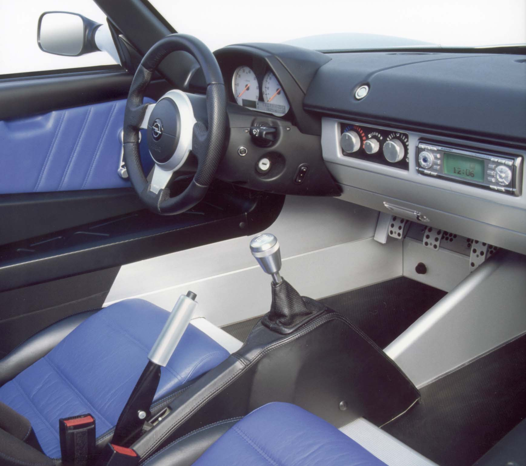 Opel Speedster Turbo Interieur