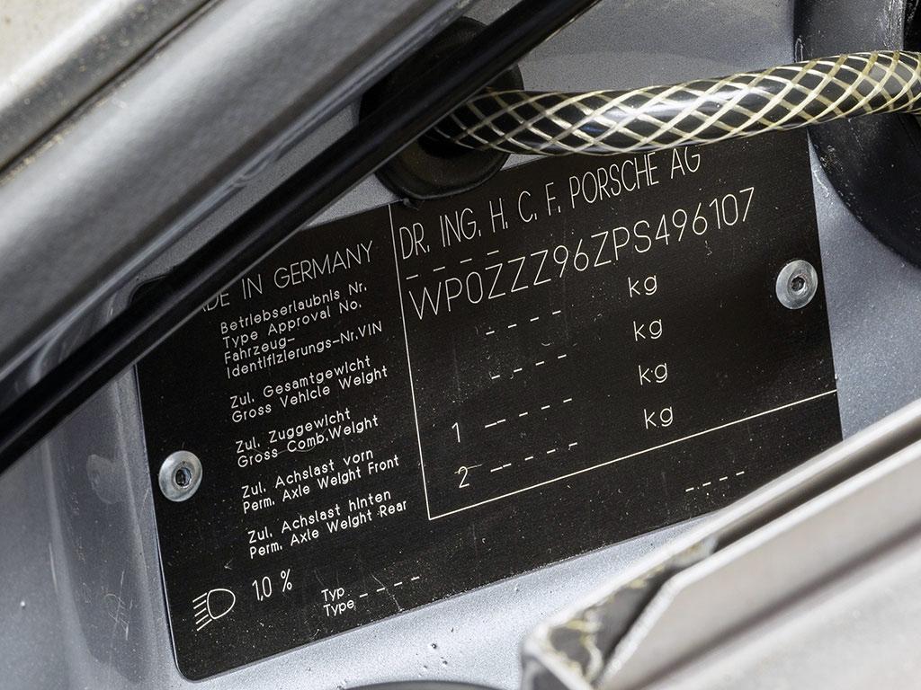 Porsche 911 CARRERA RSR MECA 4