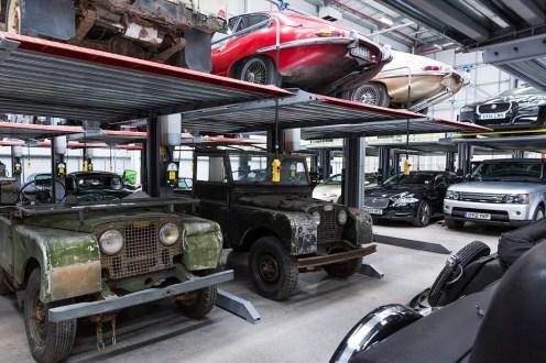 Jaguar Land Rover Classic Stock