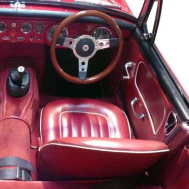 Panel kit Midget 1965 rouge