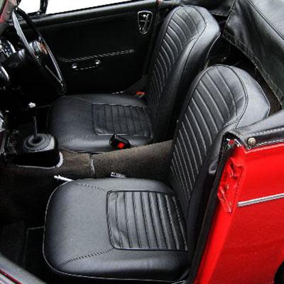 MG Midget Midget 1500 siège avant base Diaphragme Crochets X 10 BHA5097 row4-E