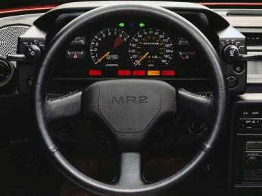 Toyota MR AW11 Interior