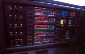 Vector W2 cockpit