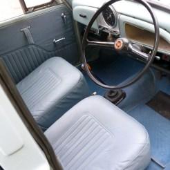 Garniture 64 71 bleu
