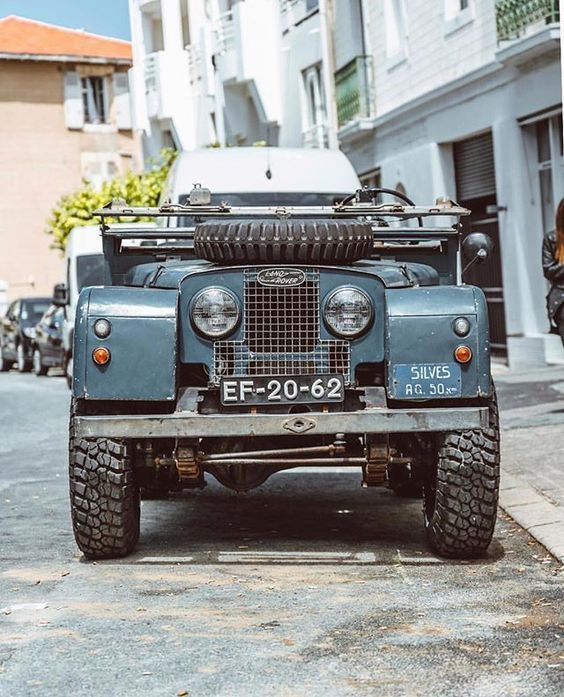 Land Rover Série 2 A 3 N//S Aile Haut Support