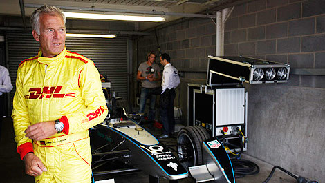 FIA Formula E Christian Danner Donington Park