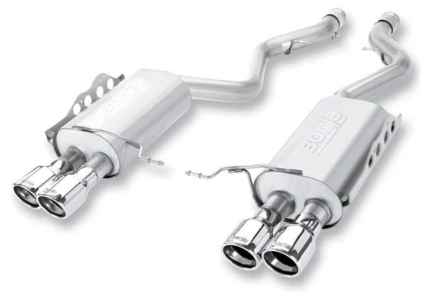 borla exhaust system 140136