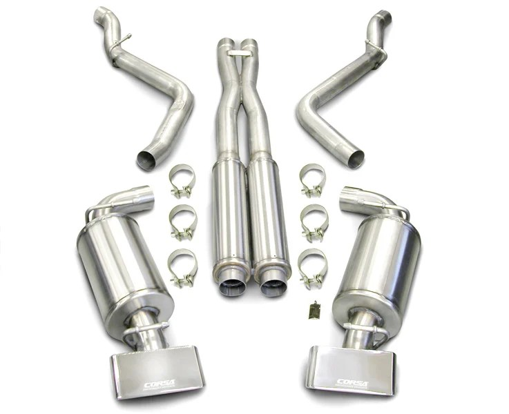 corsa exhaust system