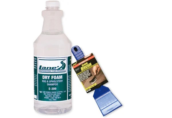 Lanes Dry Foam Carpet Upholstery Cleaner Upholstery Cleaners
