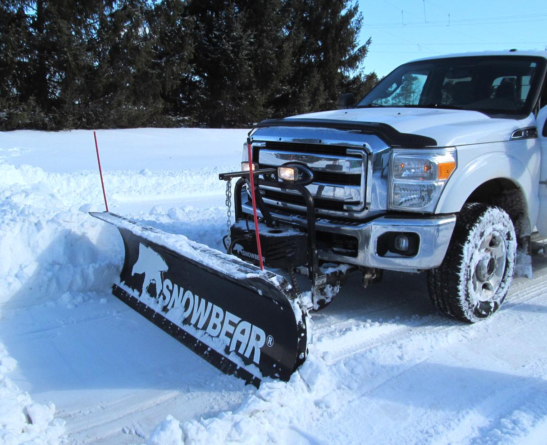 Snowbear Hydraulic Snow Plow Free Shipping