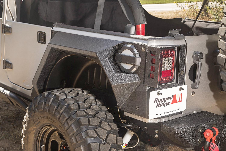 Rugged Ridge XHD Armor Fenders